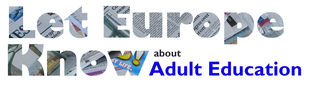 Let Europe Know about Adult Education